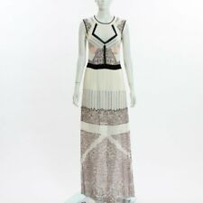 Bcbgmaxazria Runway Sleeveless Maxi Dress Size S