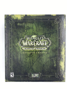 World of Warcraft Burning Crusade Collectors Edition Sealed Cards READ!