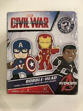 Funko Mystery Minis Bobble Head Marvel Figure Captain America Civil War, Sealed