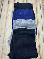 Lot of 4 Justice Girls Leggings, Size 10, great condition!