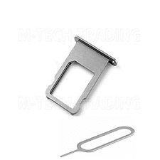 ! NEW REPLACEMENT FOR IPHONE 6S GREY SIDE SIM TRAY SIM HOLDER PART