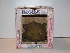 BOGLINS LARGE BOGLIN HAND PUPPET 'DWORK' MIB 80'S TOY MATTEL EURO BOX