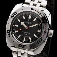 Reloj para buceo 200m Vostok Automático Mecánico AMP cal. 2416 Negro Diver Buzo