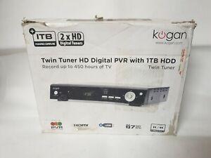 Kogan Twin Tuner HD Digital PVR with 1TB HDD