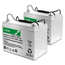 12v 70ah Mobility Scooter Batteries Twin Pack SEE DESC FOR OFFER