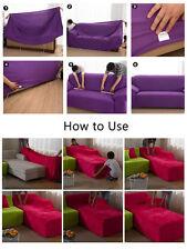 Universal Sofahusse Sofabezüge Stretchhusse Sofabezug Sesselbezug Velvet