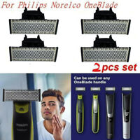 4 Packs Razor Shaver QP210/50 Replacement Blade Heads Fit For Philips One Blade