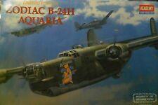 ACADEMY 1:72 KIT ZODIAC B-24H AQUARIA  WITH ART GRADE POSTER LIMITED ED ART 2163