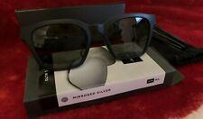 Bose Frames Alto S/M Black Bluetooth Audio Sunglasses with extra SILVER Lenses.
