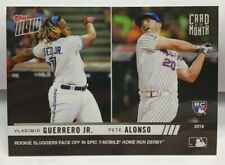 Pete Alonso/Vladimir Guerrero Jr. 2019 Topps Now Card of the Month RC - SP /1491