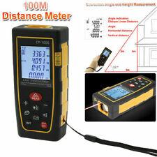 100M Digital LCD Laser Distance 328ft Meter Range Finder Measure Tape Tool US
