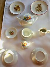 kleine Margarete Steiff Wandteller Zierteller u.Puppengeschirr Milchkanne Kaffee