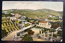 1915 Prisoner Of War POW Camp In Syros Greece Picture Postcard To Kosovo Serbia