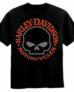 Harley-Davidson Big Boys' Willie G Skull Short Sleeve T-Shirt New