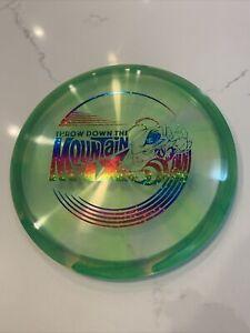 DISCRAFT Swirly Z Cryztal Buzzz Disc Golf Midrange Disc 170-172 Mountain