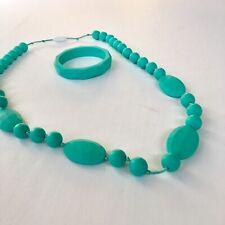 Nursing And Teething Necklace And Bracelet Set
