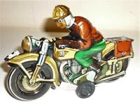 * Blechspielzeug MOTORRAD Sepp Tippco-Replik  Made in Germany