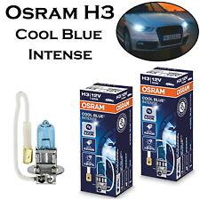 2x Osram H3 55W 12V 64151CBI Cool Blue Intense Scheinwerfer Ersatz Halogen Birne