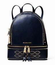 Michael Kors rucksack tasche rhea zip md  backpack leder admiral neu