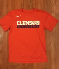 853a7a9bdde9 Nike Clemson Tigers Basketball DRI-FIT Circuit Shirt 816010-888 Medium M  NWOT