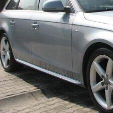 Audi A4 B8 - Side skirts bars S-line look