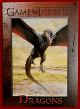 GAME OF THRONES - Season 4 - Card #58 - DRAGONS - Rittenhouse 2015