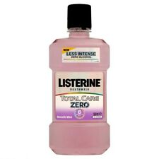 Listerine Total Care Zero Alcohol Mouthwash 500ml - Smooth Mint