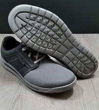 New Rockport Randle size 12 men running,casual,sports, athletic, grey,black