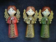 Vintage 1958 Brite Star Christmas Decoration Three Angels