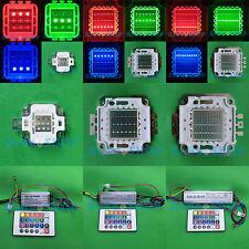 10W 20W 30W 50W RGB Rojo Verde Azul Completo Color de alta potencia LED lámpara Light + Driver