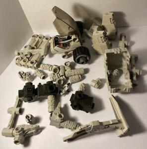 Lot of Vintage Robotix Building Toy Parts Milton Bradley