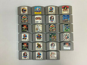 Lot of 23 Nintendo N64 Japanese Games - Untested