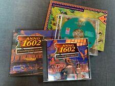 PC-Spiele Anno 1602 (mit Handbuch) & Siedler III