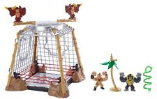 WWE Slam City Gorilla in a Cell Match Playset Rumblers Wrestling Set
