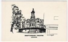 London; Shaftesbury Theatre PPC By Badger, Artist Nick Charlesworth, 1976