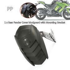 Motorcycle Rear Wheel Extension Fender Cover Splash Guard Mudguard Trim+Bracket