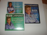 Suze Orman Financial Solutions Library DVD Solutions & Must Have Documents NEW