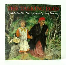 THE TALKING EGGS Robert D San Souci & Jerry Pinkney signed Caldecott VGC 1st/1st
