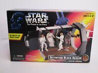 Star Wars POTF Detention Block Rescue NEW 1996 Kenner K2
