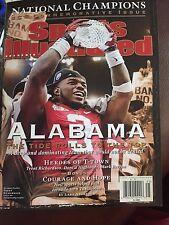 Sports Illustrated Commemorative 2011 ALABAMA CRIMSON TIDE