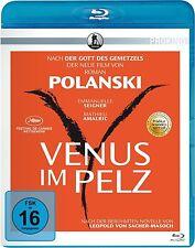 VENUS IM PELZ (Emmanuelle Seigner, Mathieu Amalric) Blu-ray Disc NEU+OVP