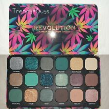 Makeup Revolution Chilled With Cannabis Sativa 18 Shades Eyeshadow Palette