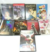 Anime DVD Collection Lot of 9 Pre-owned in Original Boxes