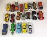 Lot of 20 Hot Wheels  70s & 80s Made in Hong Kong