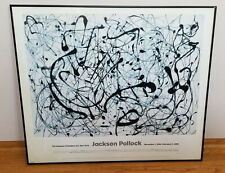 Vintage 1998 JACKSON POLLOCK Exhibition Poster Museum of Modern Art, New York