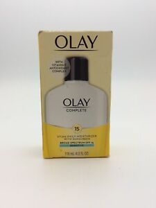 Olay Complete All Day Moisturizer Sensitive Skin - SPF 15 6oz EXP 2022 Vitamin E