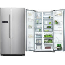 Fisher and Paykel RX628DX1 American Style Fridge Freezer Stainless Steel HA0340