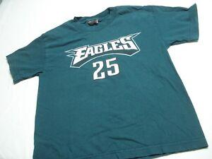REEBOK PHILADELPHIA EAGLES #25 MCCOY GREEN SHIRT SIZE YOUTH M 10-12