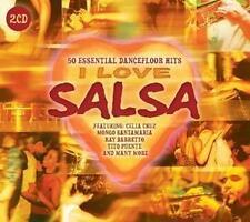 50 Essential Dancefloor Hits. Cover - I Love Salsa -2 CD's