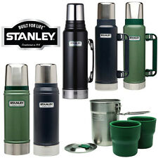 Stanley Clásico Bebidas Frasco Litro Termo De Acero Inoxidable caliente fría comida de viaje